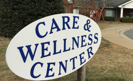 care-and-wellness-sign
